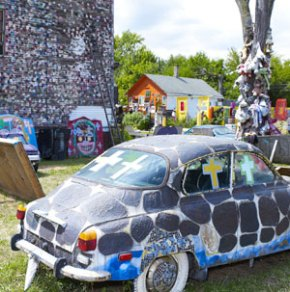 The whimsy of the Heidelburg Project