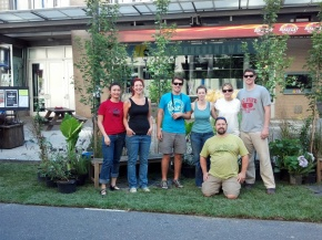 You SASLA Park(ing) day crew
